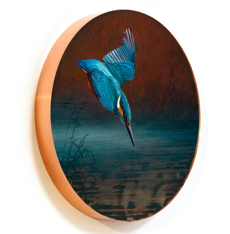 Diving kingfisher circlet G